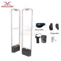 Quality Acrylic Antenna EAS retail security System 58KHz Entrance Gates for supermarket K201 for sale