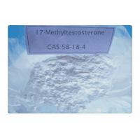 CAS 58-18-4 Testosterone Anabolic Steroid 17 Methyltestosterone / Mesterone For Mass Gaining
