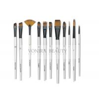 China 11pcs Art Body Paint Brushes Set for Oil Painting / Craft , Nail , Face Paint on sale