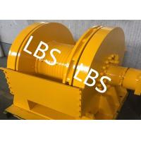 Quality DNV Approved Marine Hydraulic Winch / Windlass Winch For Pulling Dragging 12 Tons for sale