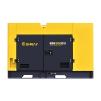 China 15KW 3 Phase 60Hz Prime Power Diesel Generator for sale