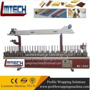 China Aluminum Window frame profile wrapping machine on sale