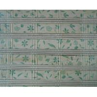 Quality Roman Style Natural Bamboo Roll Up Window Blind Customized Length for sale