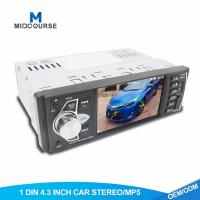 Quality 1GB 1 Din Touch Screen Car Stereo With Car FM USB SD BT RDS Radio for sale
