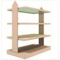 Quality Mini High Heel Shoes Wooden Display Racks with acrylic sheet for sale