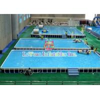 Quality Multifunctional Metal Frame Pools , Garden Swimming Pool For Play Fun for sale