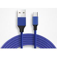 China 3.3Feet Nylon Braided Micro USB Data Cable Android Charging Cord for Samsung Galaxy S7  on sale