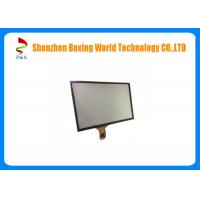 Quality 6H Hardness Capacitive Touch Screen Panel 10.4 Inch Black Color Cover Lens 6 Pins for sale