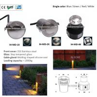 Best High Quality 316 Stainless Steel 3W Waterproof LED Four Face Emitting LED Underground Lights wholesale