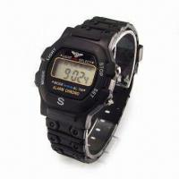 Quality Basic LCD Watch for Men, Ideal for Promotional Item for sale