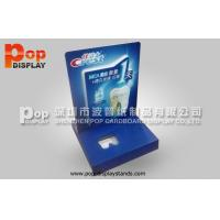 Quality Matte PP Lamination POP Corrugated Cardboard Counter Display / Exhibition Displays for sale