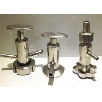"Quality 1""-4"" Stainless Steel Sanitary Valves Weld Connection Both Membrane Functions for sale"
