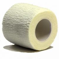 China Cotton cohesive elastic bandage self grip bandage cotton coflex bandage on sale