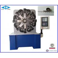 Quality 5.5 KW 220V CNC Spring Making Machine / Flat Wire Spring Forming Machine for sale