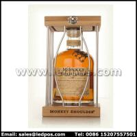 Buy cheap Ledpos Monkey Shouder Wood & Metal Bottle Glorifier from wholesalers