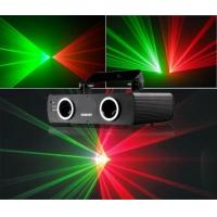 Quality 200mW Double red and green laser /led stage effect lights/hottest products in ktv bar room for sale