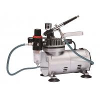 Quality Quiet Makeup Airbrush Compressor , Tankless Air Compressor Anti Rust TC-22BK for sale