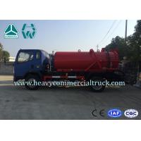 Quality Environmental Protection Fecal Suction Truck High Pressure Cleaner 4 x 2 for sale