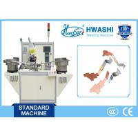 Quality Copper Sliver Terminal automatic spot welding machine for Electrical Parts for sale