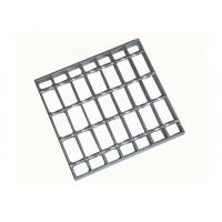 Quality Hot Dipped Galvanized Serrated Bar Grating Stair Treads Q235 European Standard for sale