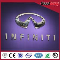 China car stickers sign/4s store acrylic thermform led lighting car emblem on sale