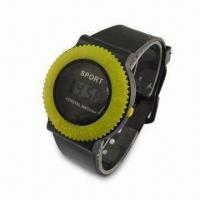 Quality LCD Wristwatch with Date, Hour, Minute and Second Display Functions for sale