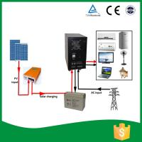 China All In One Home Solar Power System , Solar Power Converter With AGM Battery on sale