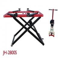 Quality 2800KG Lifting Capacity Mobile Scissor Lift , Scissor Lift Platform Dual Cylinders for sale