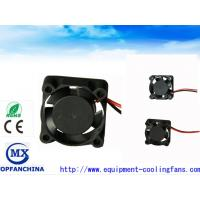 Quality High Pressure 11000RPM DC Axial Fans 12V 25mm 2.44CFM with Sleeve Bearing for sale
