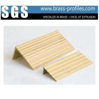 Quality Brass Alloy Stair Nosings and Threshold Covers for Interior Floor for sale