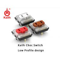 Quality Kailh Low Profile Mechanical Keyboard Switch PG1350 for sale
