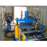 Quality Building Site Standing Seam Roll Former , Roofing Sheet Roll Forming Machine Portable Design for sale