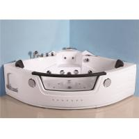 Full Body Therapy Whirlpool Spa Tub , Extra Large Freestanding Jacuzzi Tub