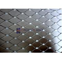 Quality SS 304 SS 316 SS 316L Balustrade Cable Mesh Aviary Wire Netting 7×7 / 7×19 for sale