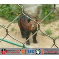 Quality Stainless Steel Wire Cable Mesh/Zoo Mesh/Animal Cage for sale
