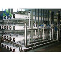 Quality Industrial Processing Boiler Feed Water Treatment System 98% Rejection Rate for sale