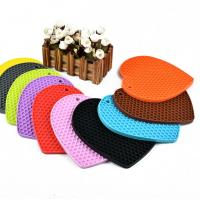 Best Silicone Mat Cup Pad Table Mats Heat Insulation Pad Thermal Insulation Silicone Mat wholesale