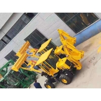 Quality Hydraulic 76KW 1m3 Bucket Backhoe Loader AC And Joystick WZ30-25 for sale