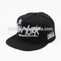Quality Comfortable Cotton Stylish Hip Hop Caps Sun Protection White Black Color for sale