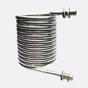 Quality Titanium Tube Aquarium Evaporator Coil Type Heat Exchanger for sale