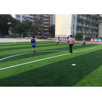 China Children Friendly Artificial Grass Playground Surface ISO / SGS Qualified on sale