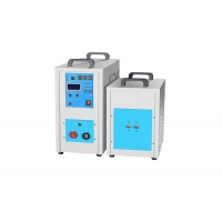 China Small Portable 35KW Silver Copper Steel Induction Gold Melting Furnace High Frequency for sale