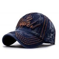 Quality Adult Cotton Embroidered Baseball Caps Antique Casquette For Outdoor Sports for sale