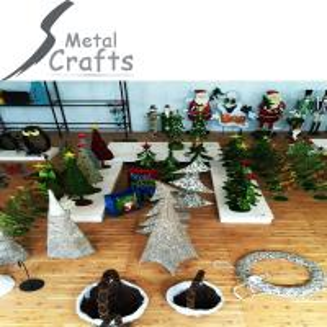 China 2015 Customized Christmas Decorative Metal Crafts on sale