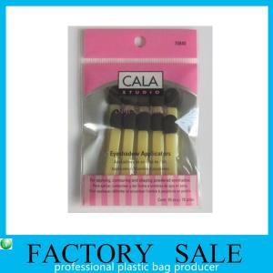 Best OPP Eyeshadow Brush Packaging Plastic Self Adhesive Bags For Cosmetics Product wholesale