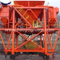 Quality 50 CBM  Mobile Tyre Dedusting Hopper for Clink with Truck for sale