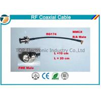 Quality High Performance Male Female Rf Coaxial Cable RG174 With MMCX Connector Series for sale