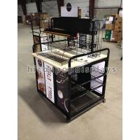 Best Movable Retail Single Sided Gondola Shelving For Display Coffee Maker wholesale