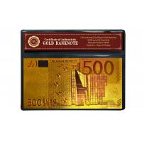 Best Christmas Ornament Colorful 24K Gold Foil Banknote wholesale