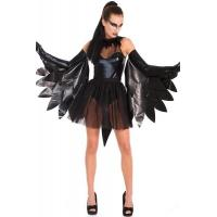 Dark Raven Swan Dance Halloween Adult Costumes Fairies For Party Christmas
